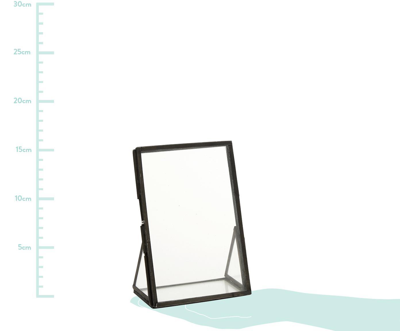 Ramka na zdjęcia Mamun, Czarny, transparentny, S 10 x D 15 cm