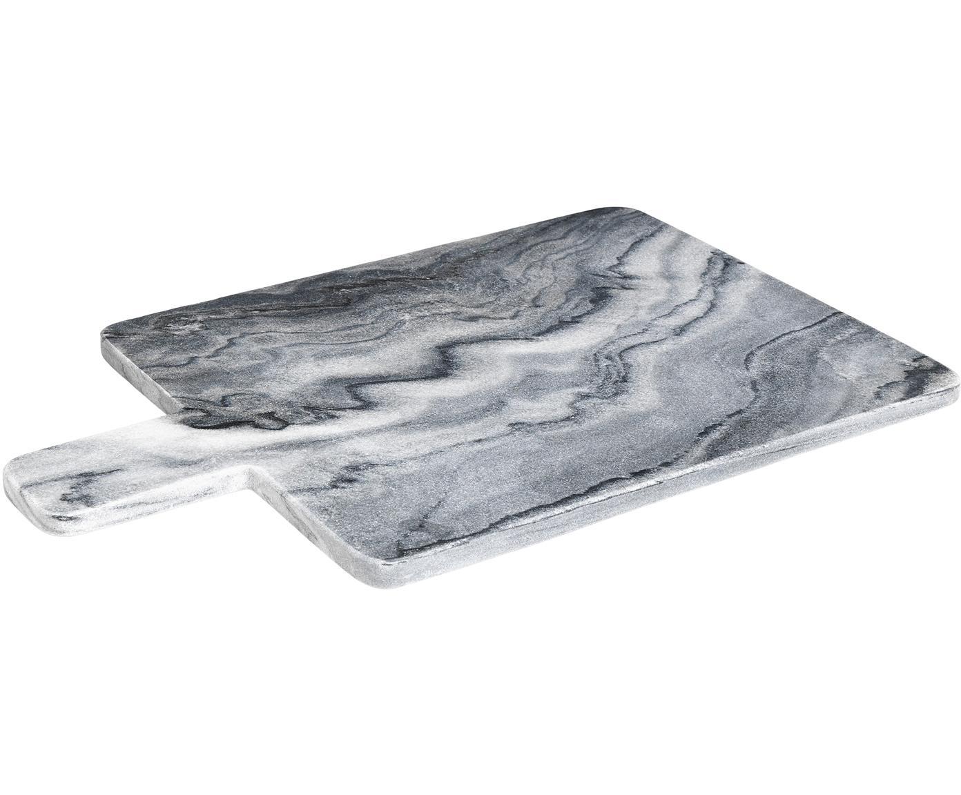 Marmor-Schneidebrett Adam, Marmor, Grau, B 45 x T 30 cm