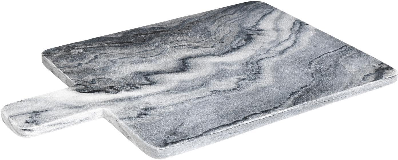 Marmeren snijplank Adam, Marmer, Grijs, 45 x 30 cm