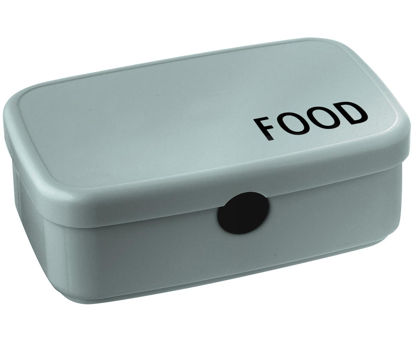 Pudełko na lunch Food, Nowoczesne tworzywo TRITAN (tworzywo sztuczne, bez BPA), Zielony, S 18 x W 6 cm