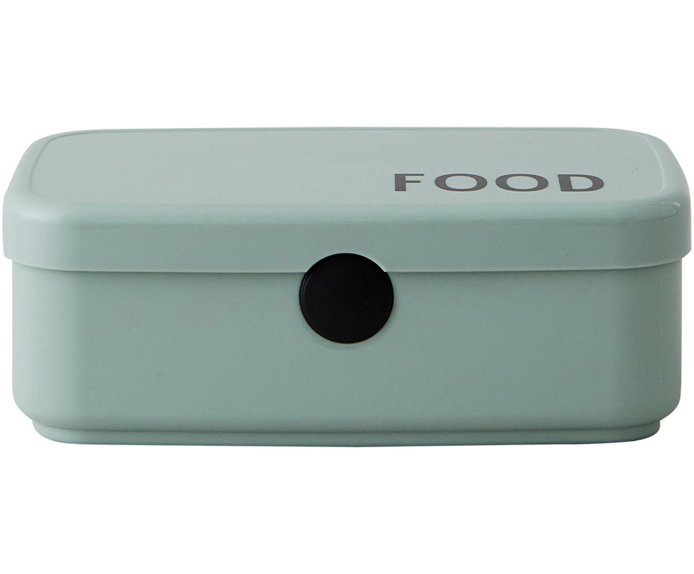 Lunchbox Food, Tritan (kunststof, BPA-vrij), Groen, 18 x 6 cm