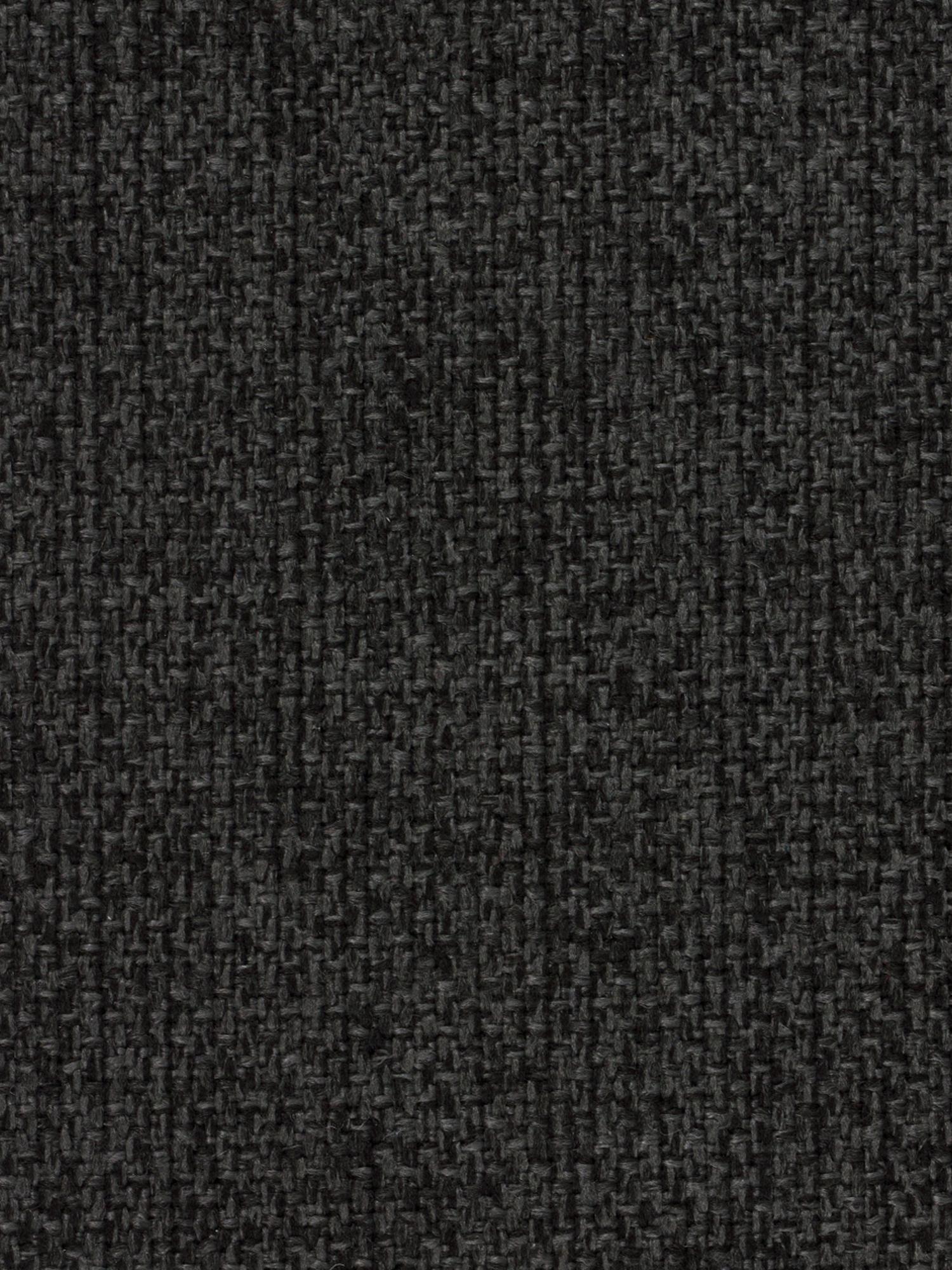 Divano angolare 4 posti in tessuto antracite Cucita, Rivestimento: tessuto (poliestere) 45.0, Struttura: legno di pino massiccio, Piedini: metallo laccato, Tessuto antracite, Larg. 302 x Prof. 163 cm