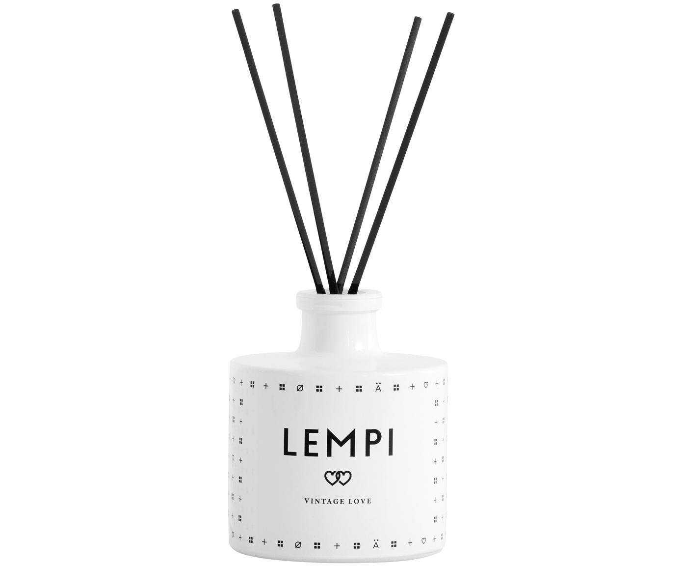 Diffuser Lempi (roos), Wit, Ø 8 x H 11 cm