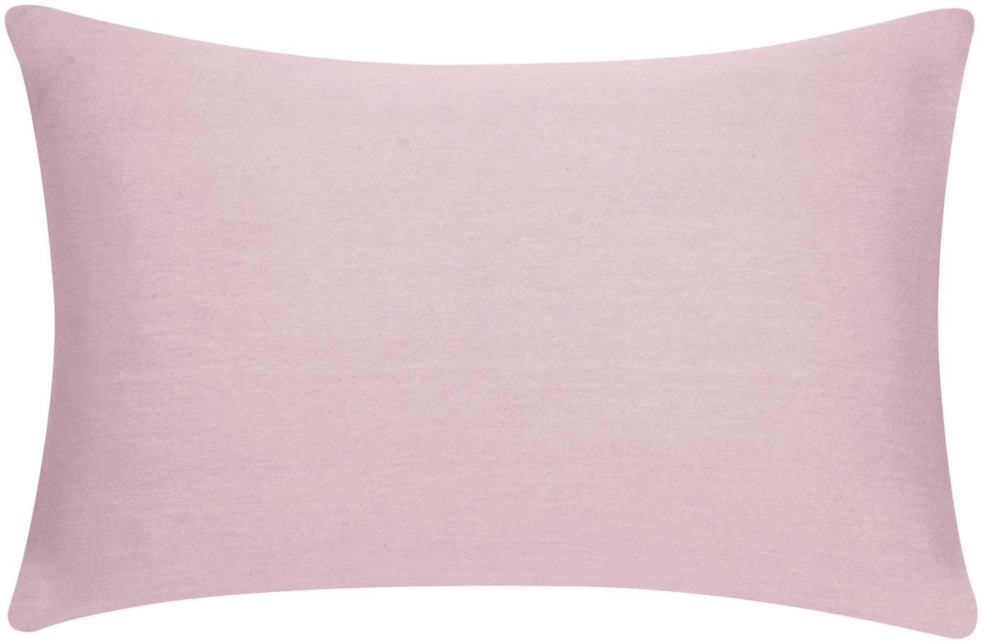 Baumwoll-Kissenhülle Mads in Rosa, 100% Baumwolle, Rosa, 30 x 50 cm