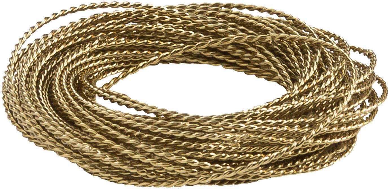 Obrączka na serwetkę Kerala, 4szt., Metal, Odcienie brązu, Ø 6 cm
