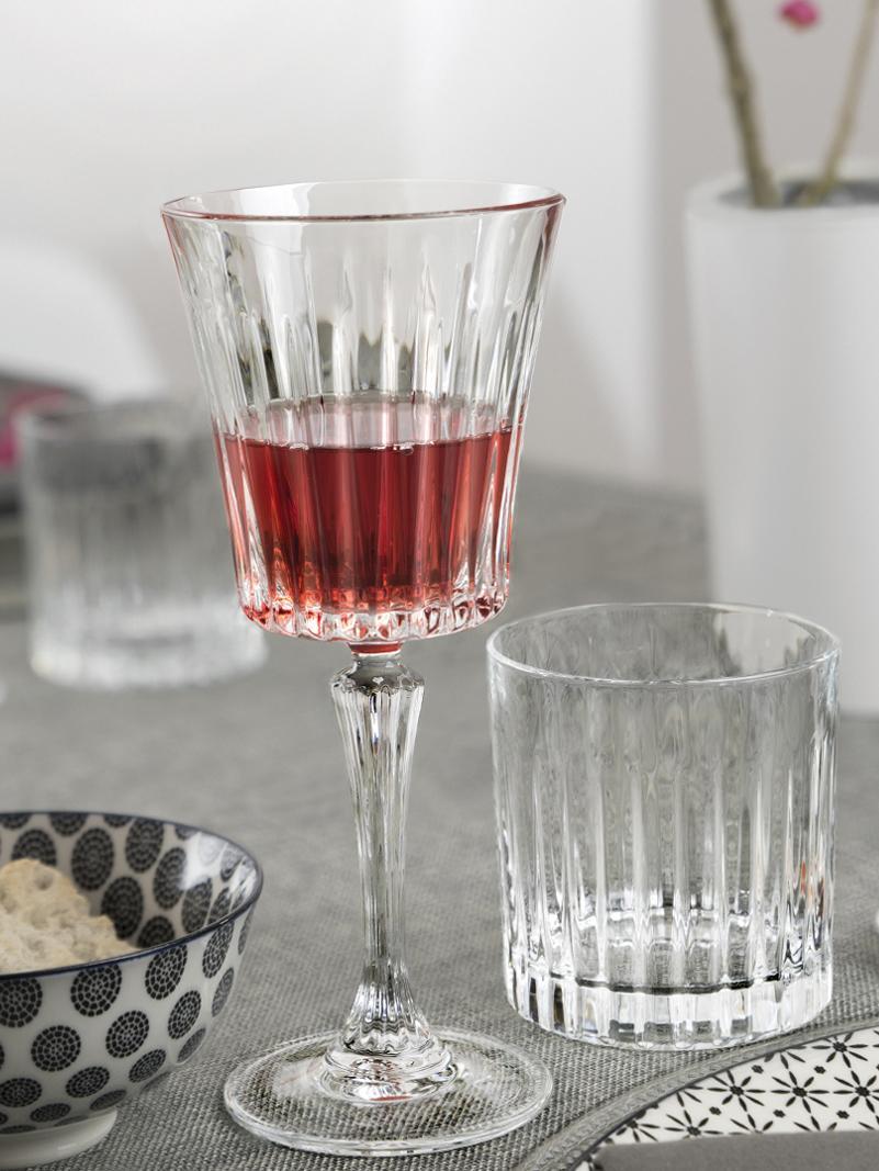 Ensemble à whiskey en cristal Timeless, 7élém., Transparent