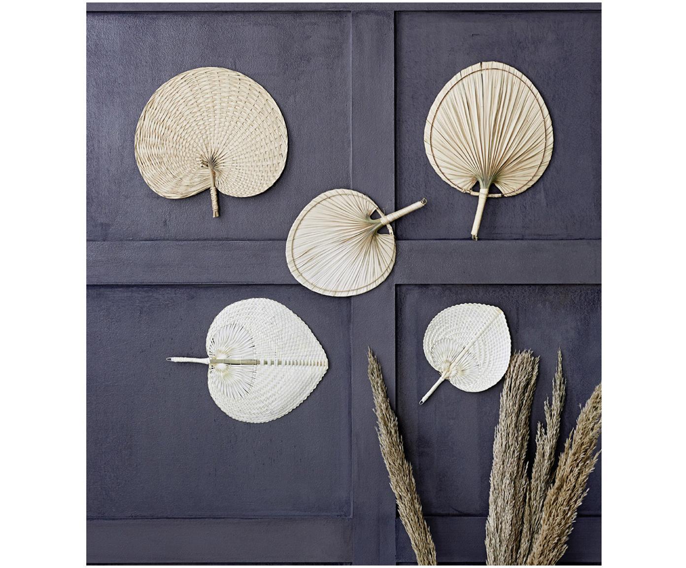 Wandobject Seam van palmvezels, Palmboomvezels, Lichtbruin, 29 x 37 cm