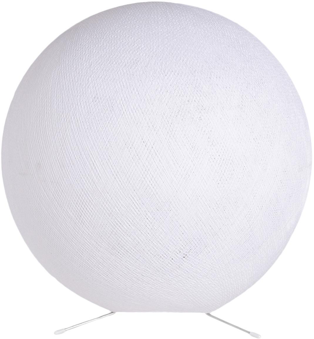 DIY Tischlampe Colorain, Lampenschirm: Polyester, Weiss, Ø 36 cm