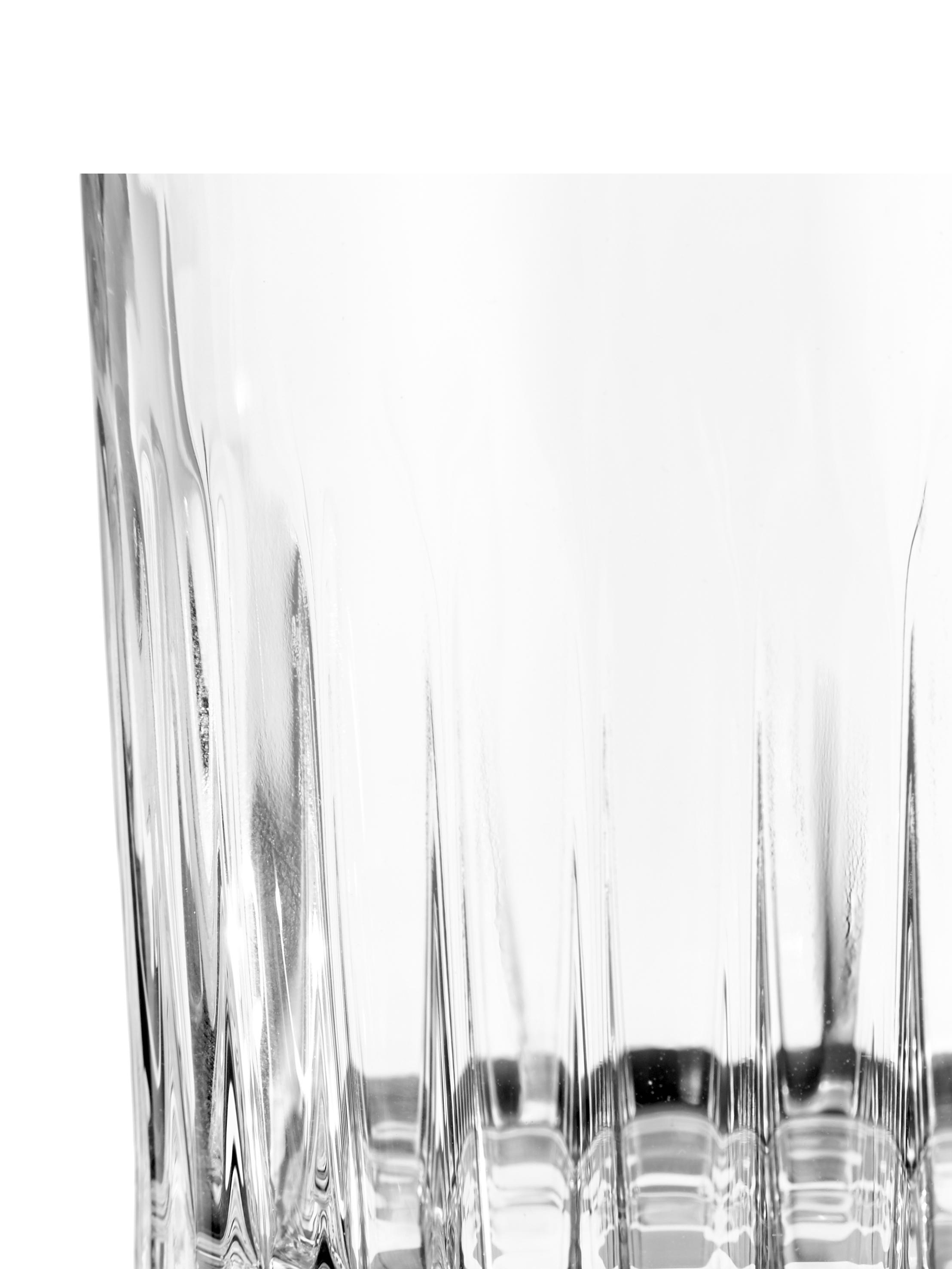 Bicchiere whiskey in cristallo Timeless 6 pz, Cristallo, Trasparente, Ø 9 x Alt. 9 cm