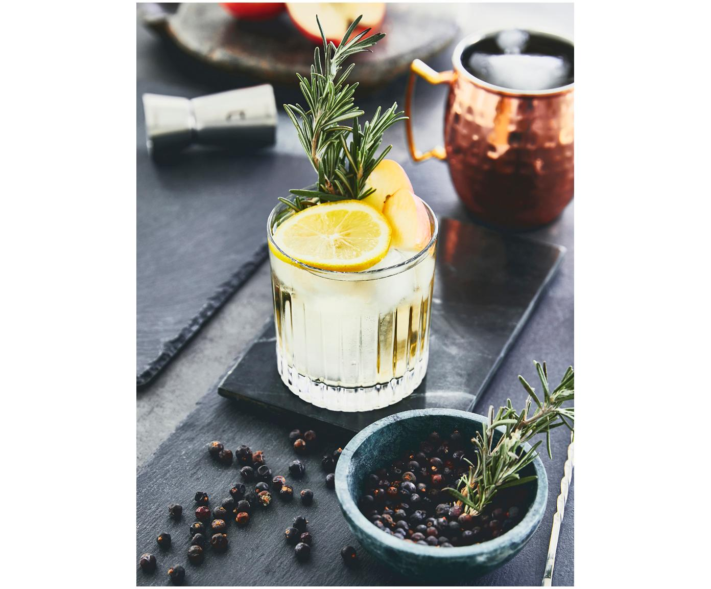 Kryształowa szklanka do whisky Timeless, 6 szt., Szkło kryształowe, Transparentny, Ø 9 x W 9 cm