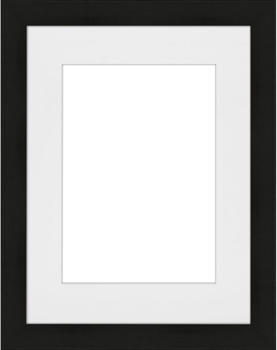 Ramka na zdjęcia Apollon, Czarny, 18 x 24 cm