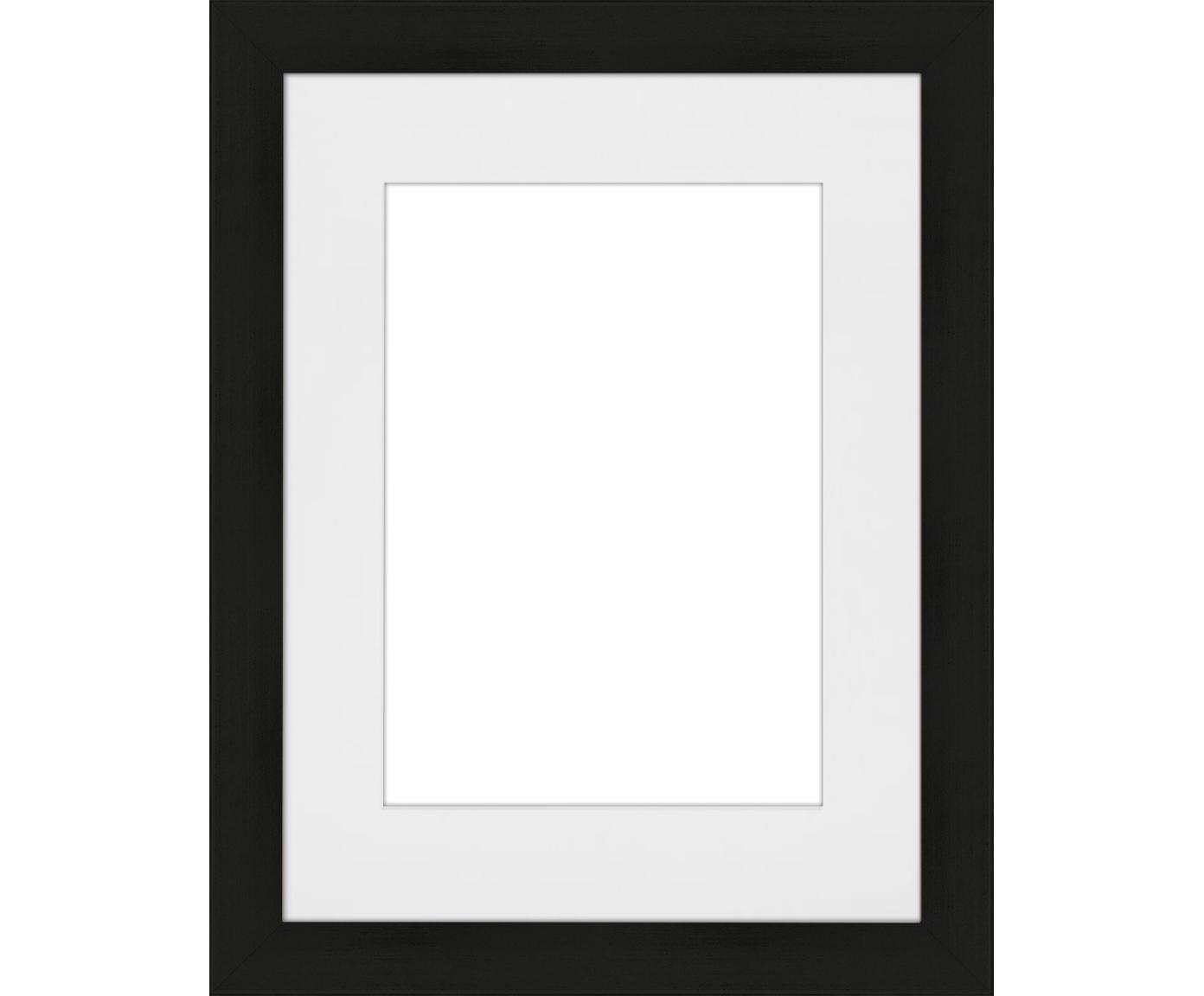 Marco Apollo, Parte trasera: Tablero de fibras de dens, Negro, 18 x 24 cm