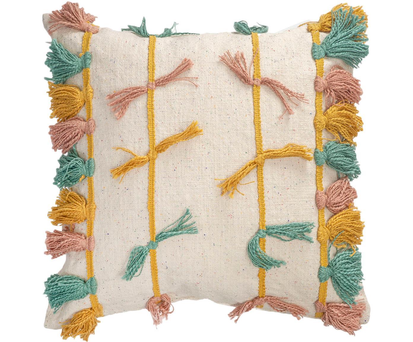 Kissenhülle Rumba, 100% Baumwolle, Mehrfarbig, 45 x 45 cm