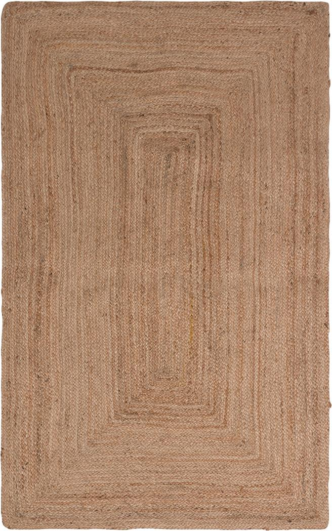 Dywan z juty Ural, Juta, Beżowy, S 90 x D 150 cm (Rozmiar XS)