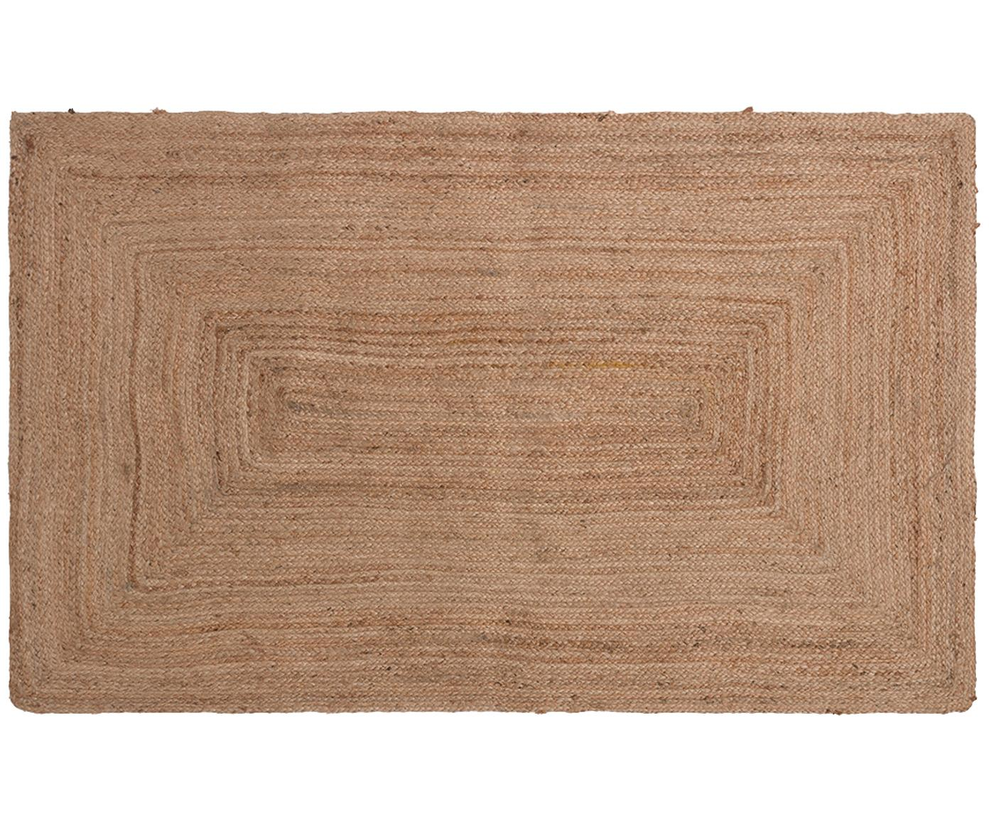 Juteteppich Ural, 100% Jute, Beige, B 90 x L 150 cm (Grösse XS)