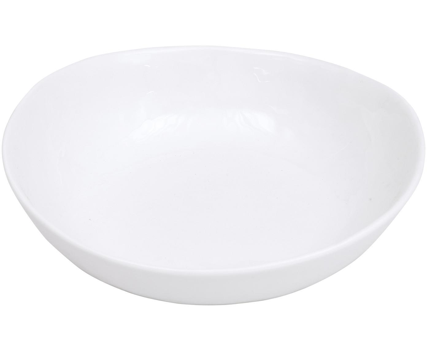 Schaal Porcelino, 4 stuks, Porselein, Wit, 16 x 17 cm