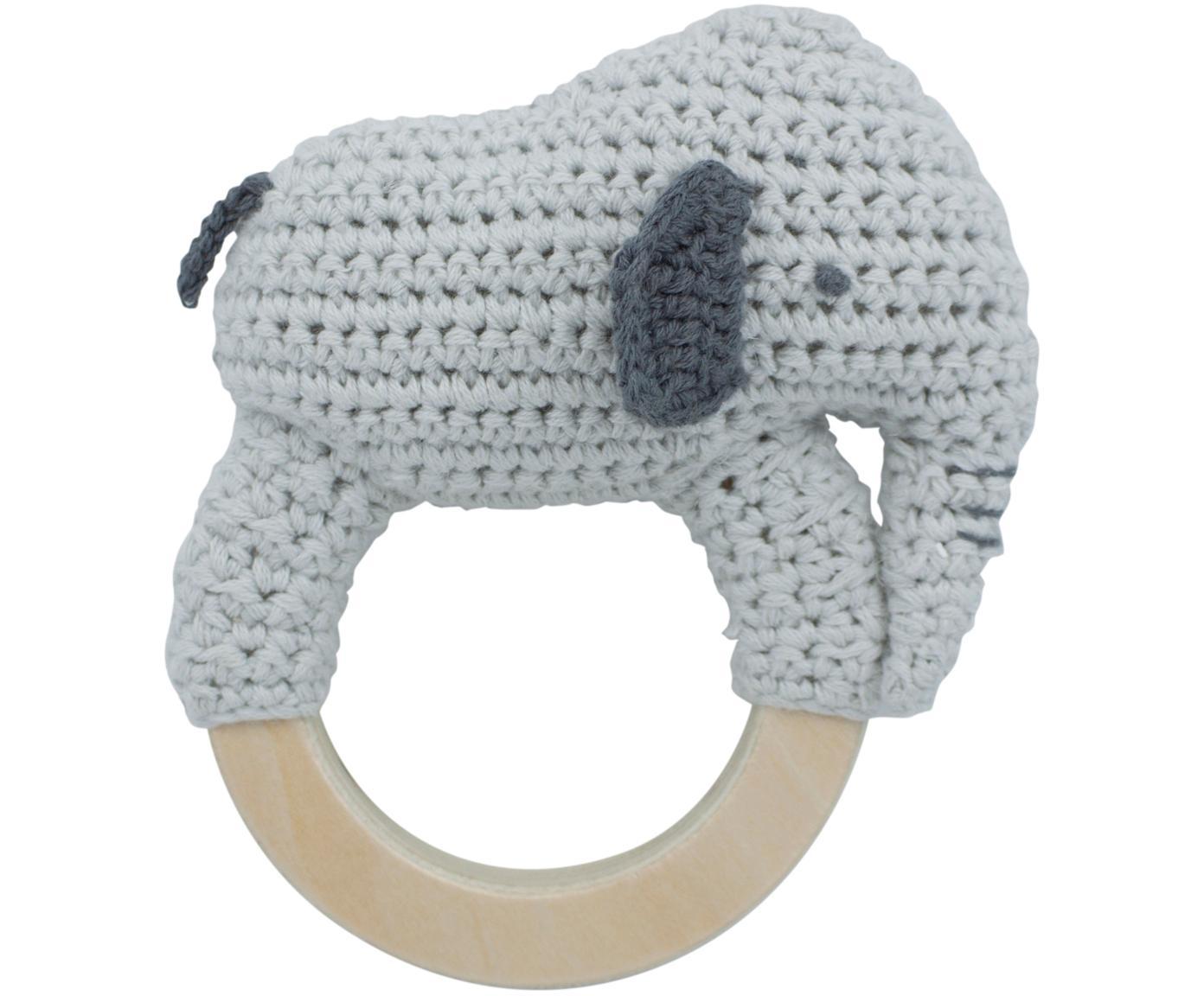 Greifling Finley, Bezug: Baumwolle, Grau, 12 x 12 cm