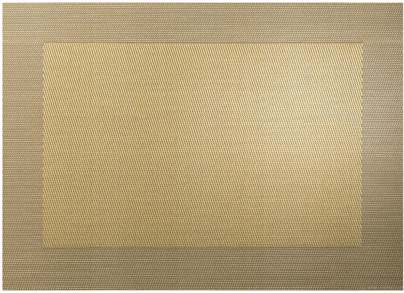 Tovaglietta americana in materiale sintetico Trefl 2 pz, Materiale sintetico (PVC), Dorato, Larg. 33 x Lung. 46 cm