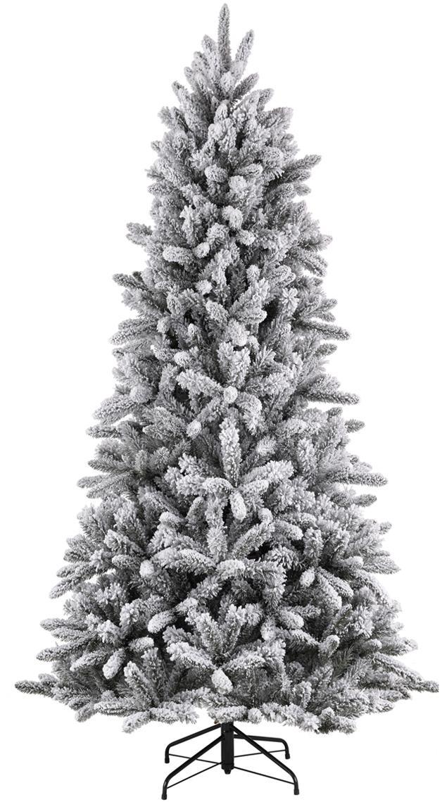 Albero di Natale artificiale Snowdown, Verde scuro, Ø 102 x Alt. 155 cm