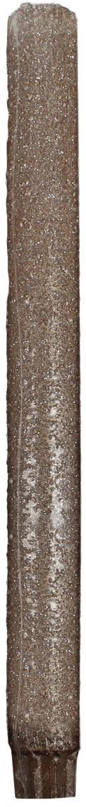 Candela bastone Flair 3 pz, Cera, Dorato, Ø 3 x Alt. 27 cm
