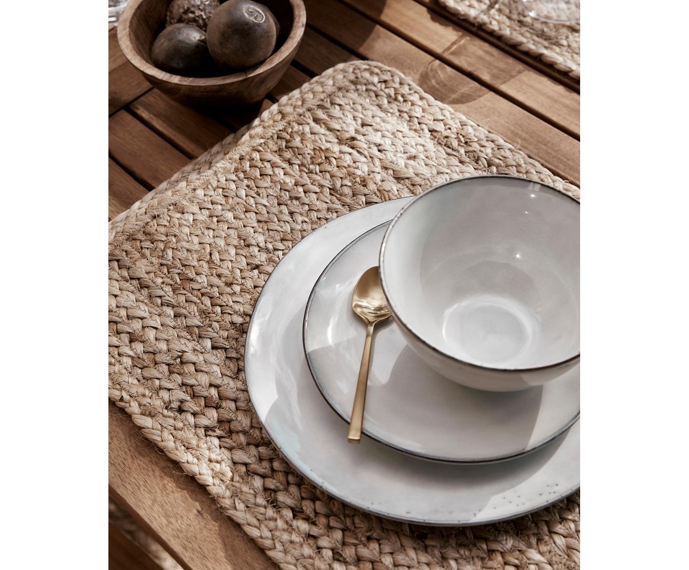 Ręcznie wykonany komplet naczyń Nordic Sand, 12 elem., Odcienie piaskowego, Różne rozmiary