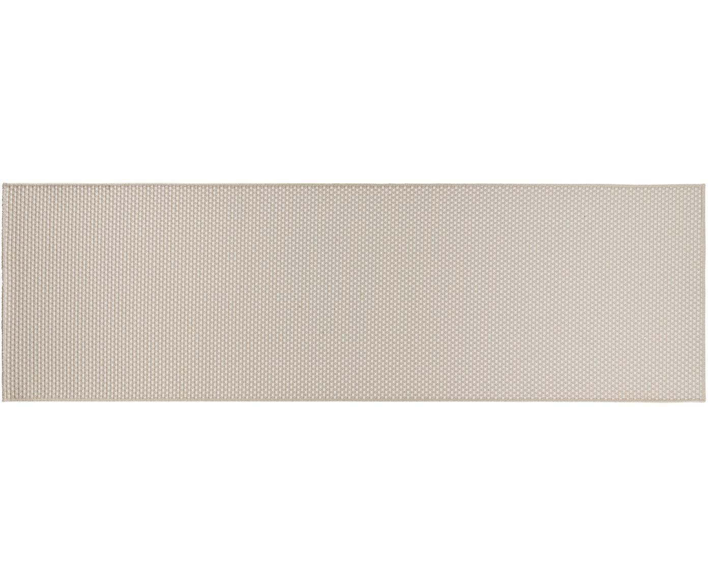 In- & Outdoor-Läufer Nala in Sisal-Optik, Elfenbeinfarben, 80 x 250 cm