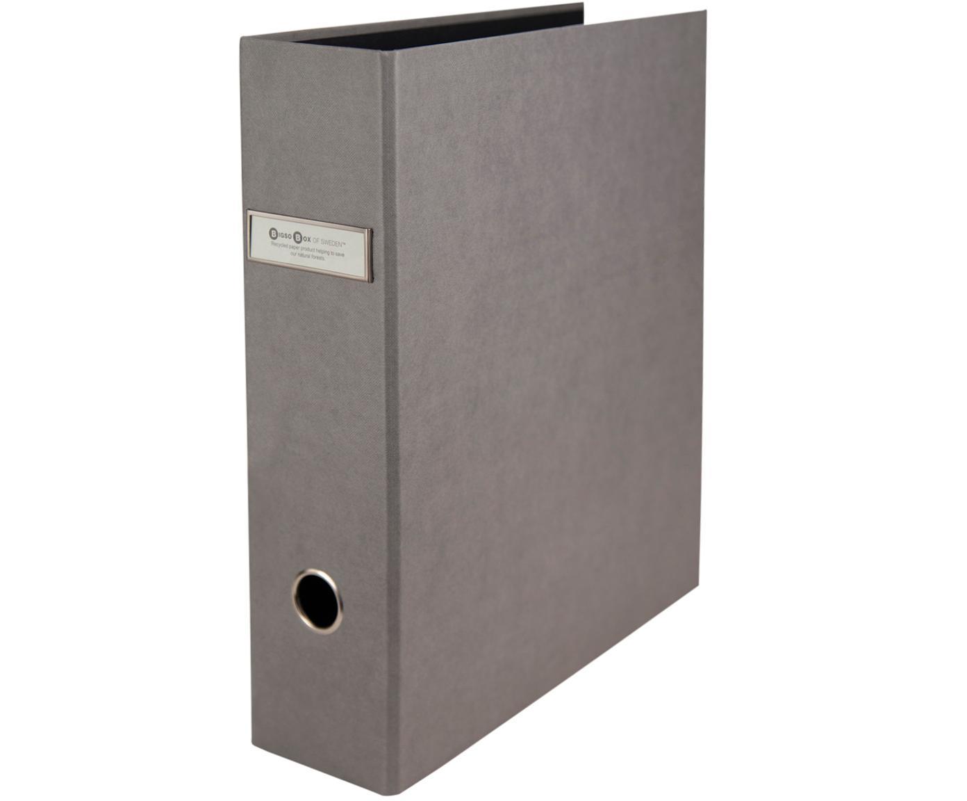 Dokumentenordner Archie, 2Stück, Grau, 29 x 32 cm