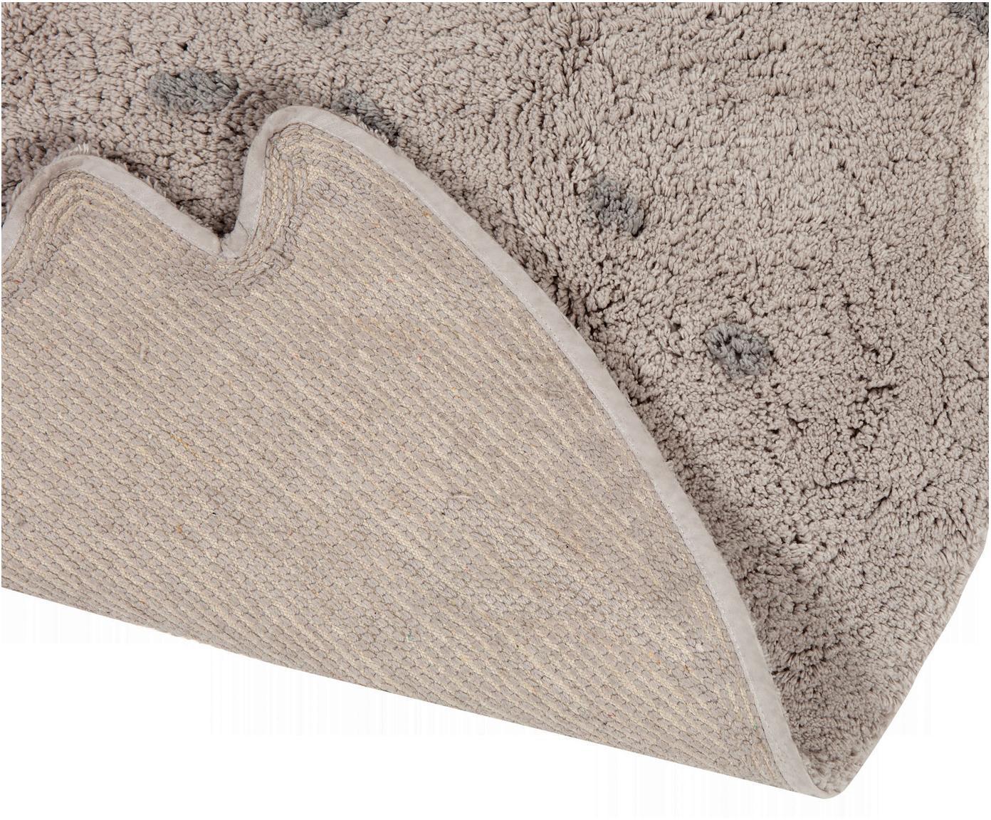 Teppich Sweet Pepa, Baumwolle, Braun, Beige, 95 x 120 cm