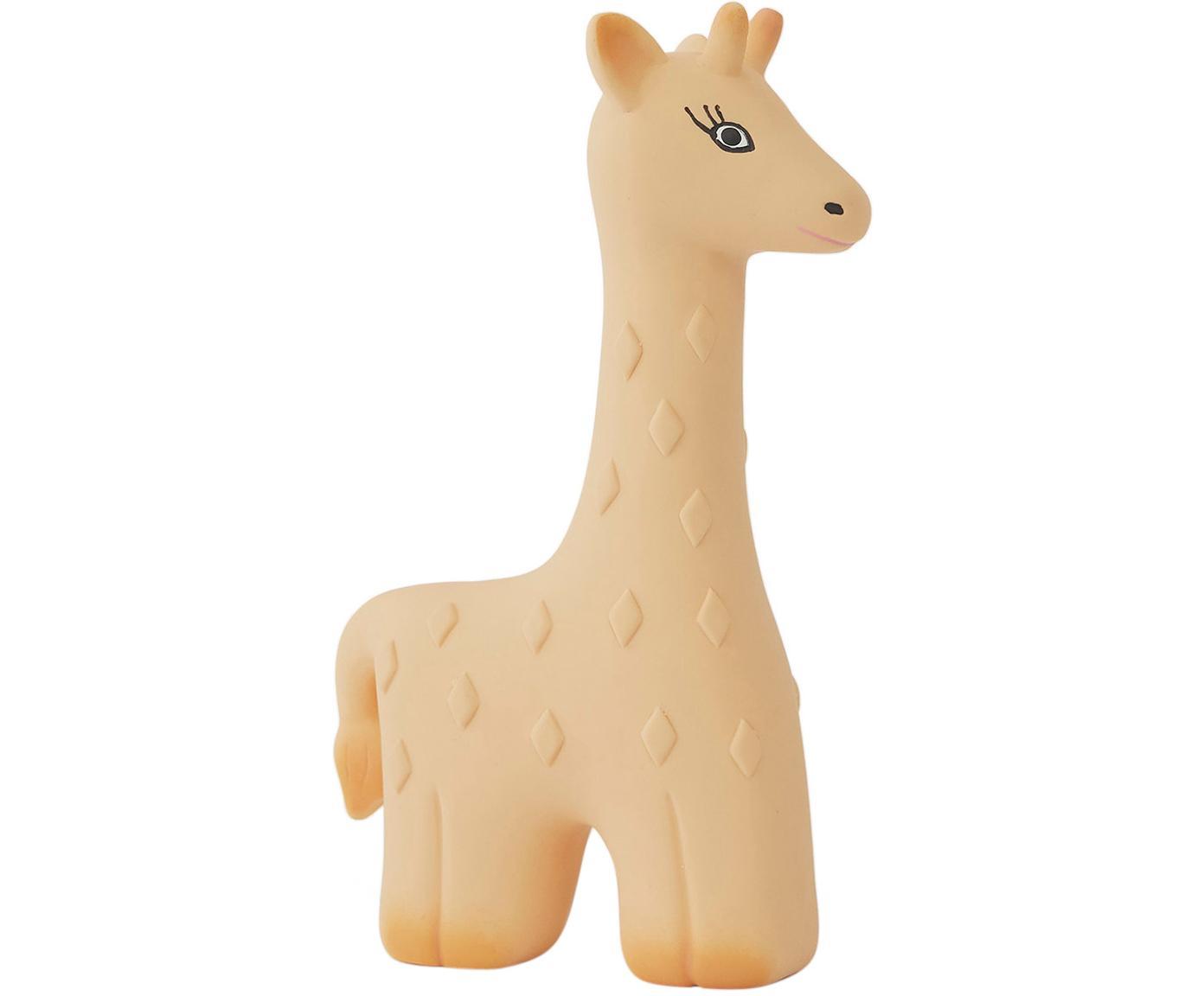 Giocattolo massaggiagengive Giraffe Noah, Senza gomma, BPA e ftalati, Beige, nero, Larg. 10 x Alt. 15 cm
