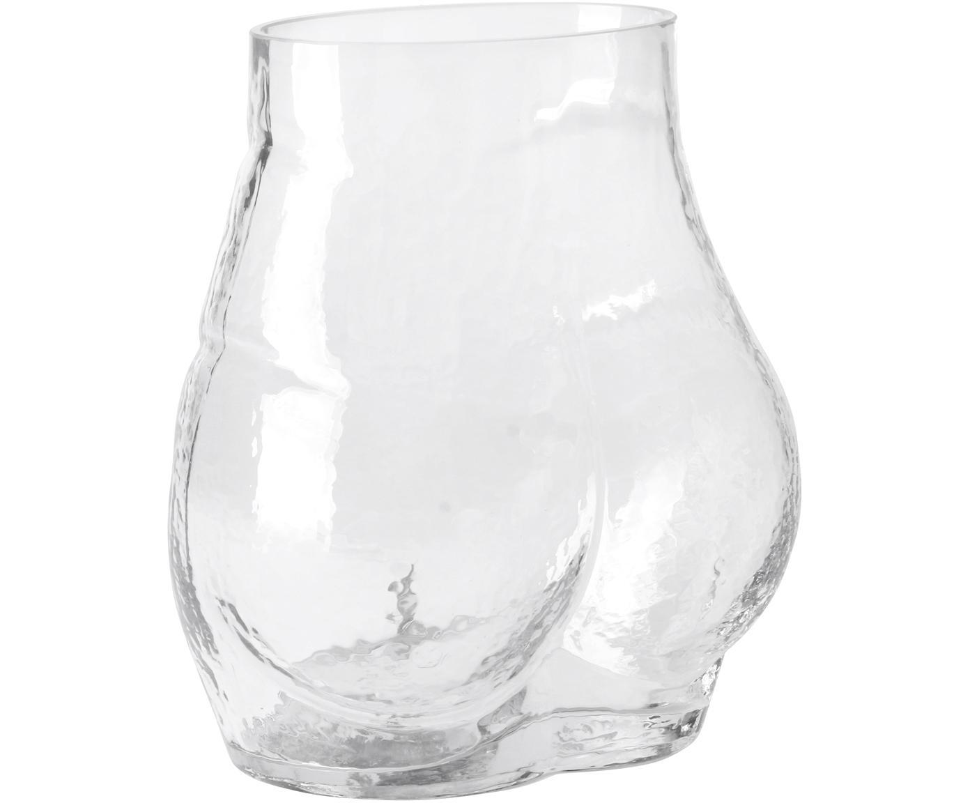 Glazen vaas Peach, Glas, Transparant, 20 x 23 cm