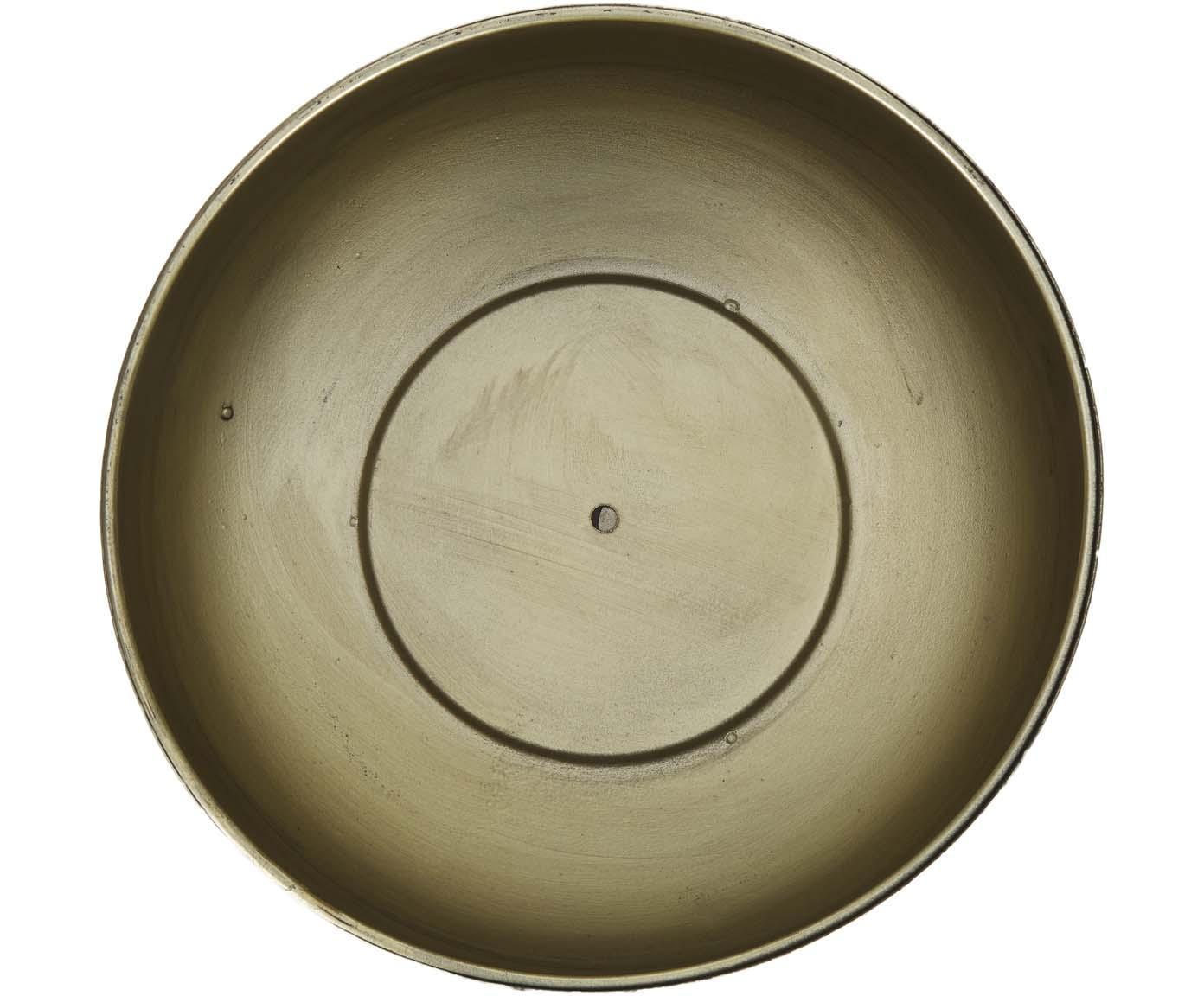 Komplet osłonek na doniczkę Chimp, 2 elem., Metal powlekany, Odcienie mosiądzu, czarny, Różne rozmiary