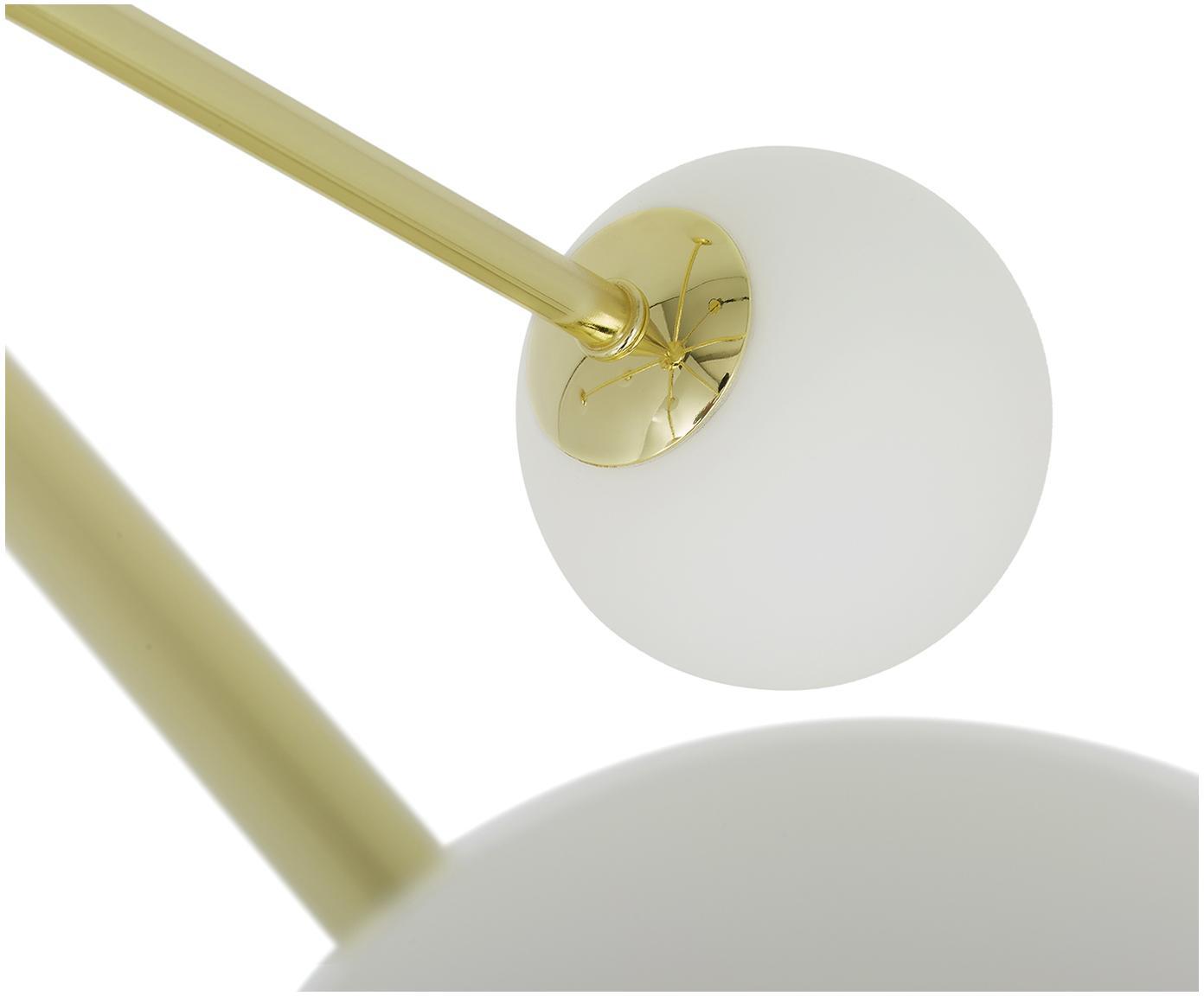 Lampa wisząca Space, Odcienie złotego, S 81 x G 71 cm