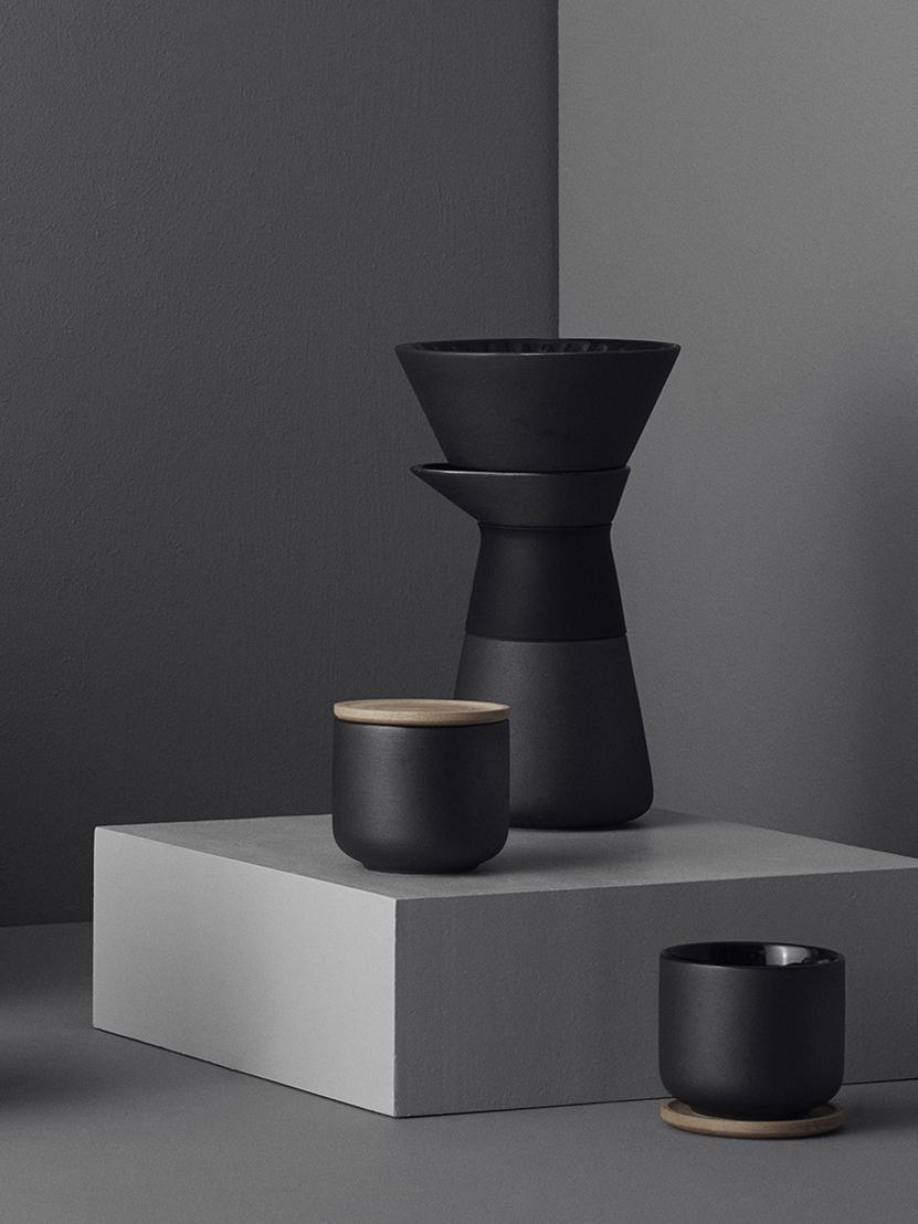 Zaparzacz do kawy Theo, Czarny, 500 ml