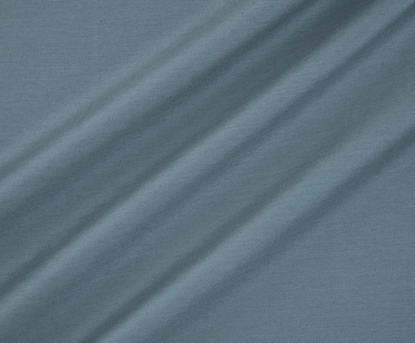 Baumwollsatin-Bettwäsche Flora in Petrol, Webart: Satin Fadendichte 210 TC,, Vorderseite: MehrfarbigRückseite: Petrol, 240 x 220 cm + 2 Kissen 80 x 80 cm