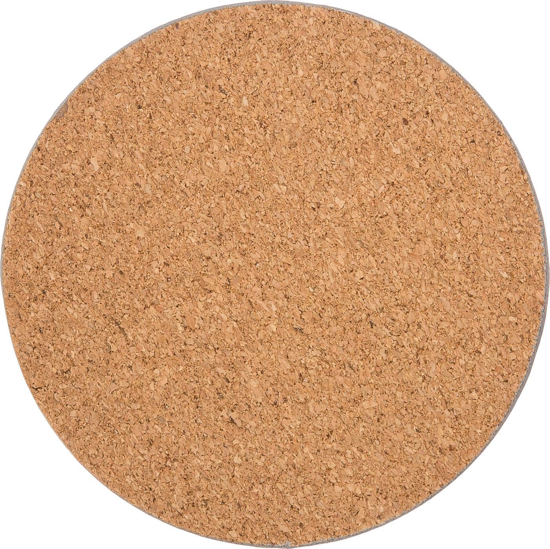 Kork Untersetzer-Set Cork in Marmoroptik, 6-tlg., Kork, beschichtet, Marmor-Optik, Ø 10 cm