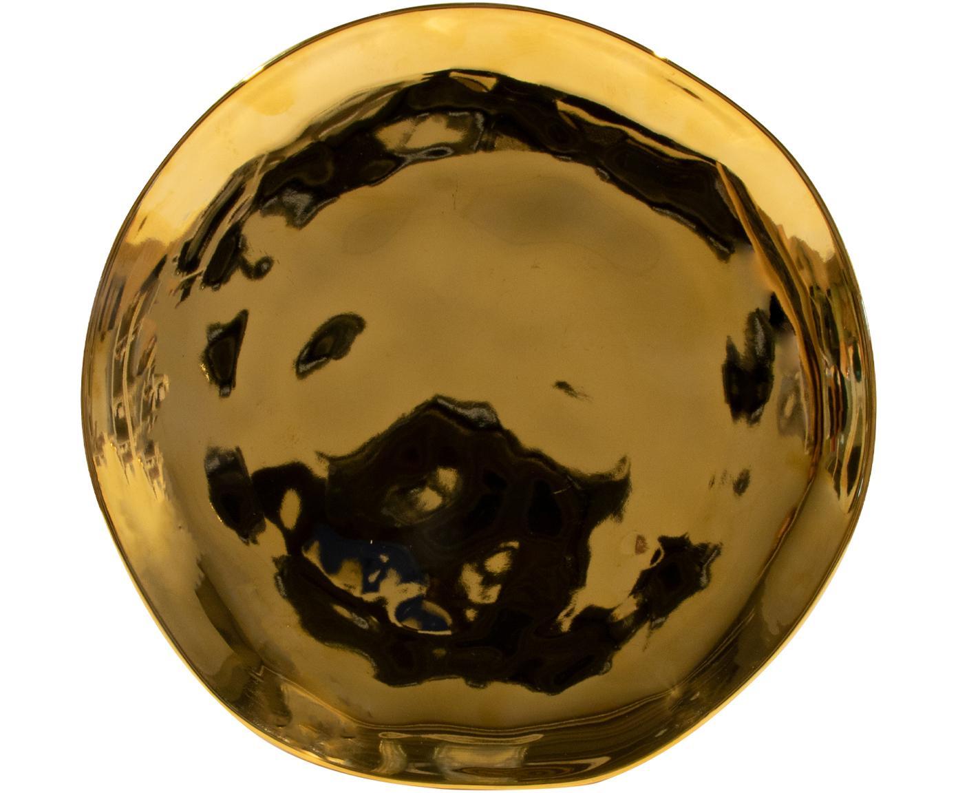 Kuchenteller Good Morning in Gold, Steingut, beschichtet, Goldfarben, Ø 22 cm