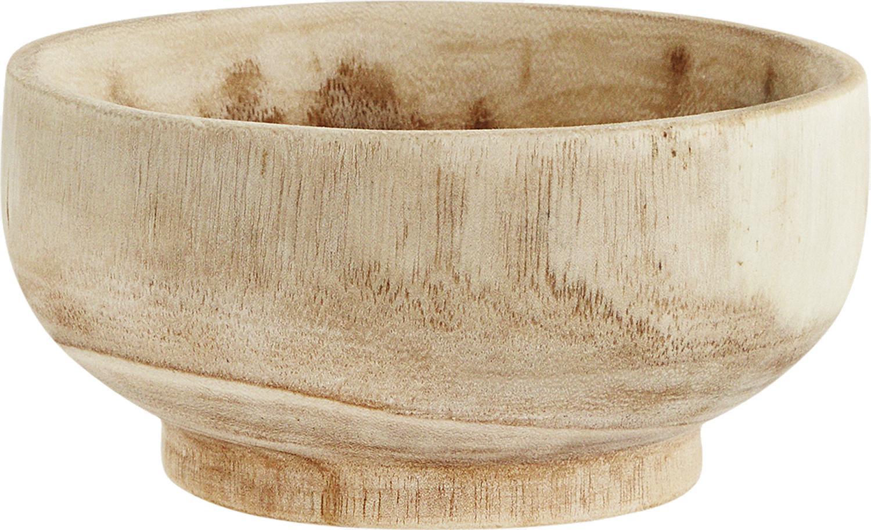 Schalen Sandry Ø 20 cm aus Paulowniaholz, 2 Stück, Paulowniaholz, geölt, Paulowniaholz, Ø 20 cm