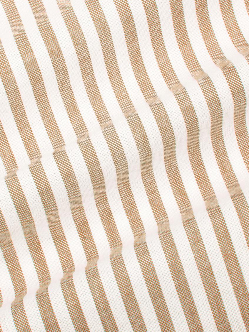 Pościel z bawełny Ellie, Biały, czerwony, 240 x 220 cm