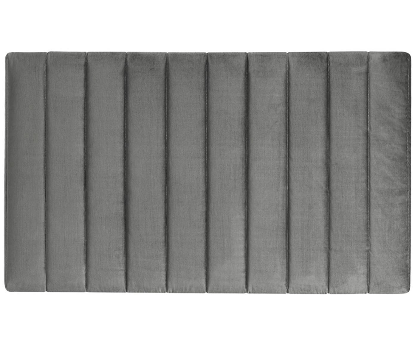 Cabecero Paris Dot, Estructura: tablero de fibras de dens, Tapizado: 100%poliéster efecto ter, Interior: guata doble 500g (100%p, Gris antracita, An 135 x Al 80 cm