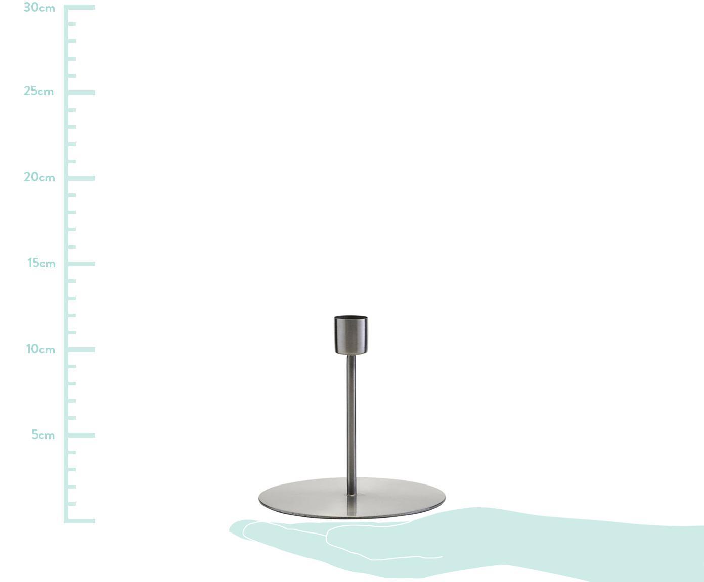 Kerzenhalter Anit, Metall, Metall, Ø 13 x H 12 cm