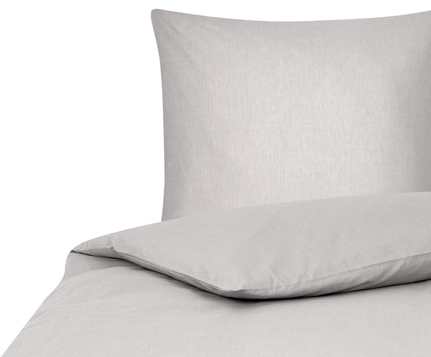 Pościel Cashmere, 93% bawełna, 7% kaszmir, Beżowy, 135 x 200 cm