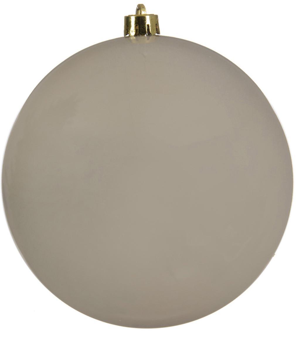 XL Weihnachtskugel Minstix Ø20cm, Kunststoff, Beige, Ø 20 cm