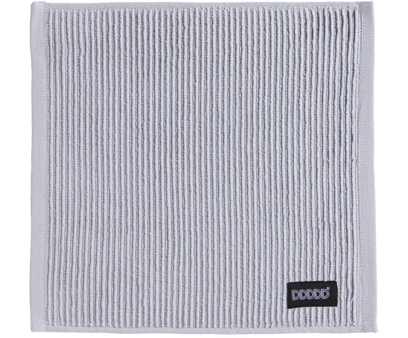 Sponsdoeken Basic Clean, 4 stuks, Katoen, Grijs, 30 x 30 cm