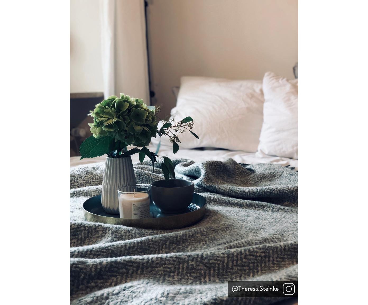 Świeca zapachowa Bliss (kokos), Naturalny wosk sojowy, szkło, Transparentny, W 8 cm