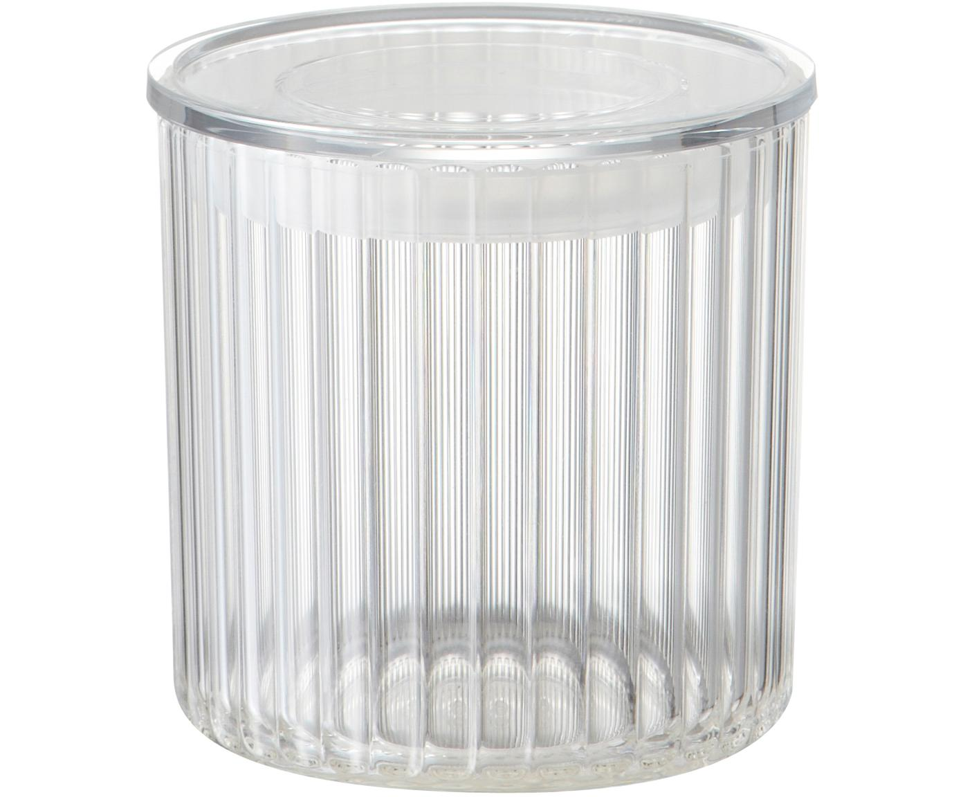 Bote de plástico Fonte, Plástico (PMS), Transparente, Ø 10 x Al 11 cm