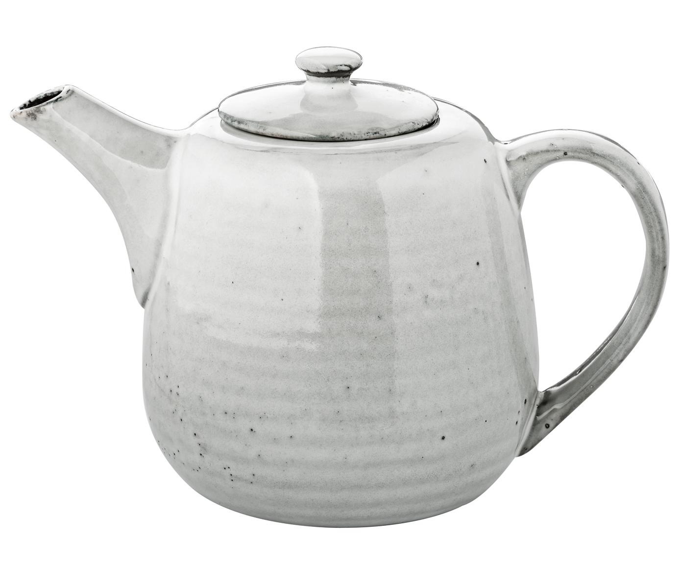 Ręcznie wykonany czajnik Nordic Sand, Kamionka, Piaskowy, 1 l