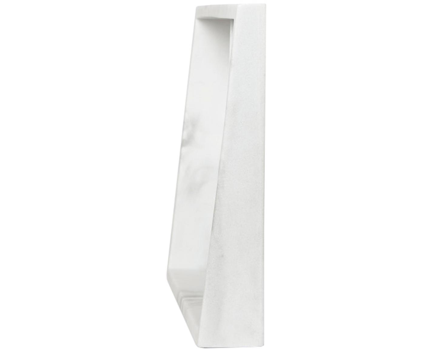 Ramka na zdjęcia Edge, Poliresing z wzorem marmurowym, Biały, Różne rozmiary