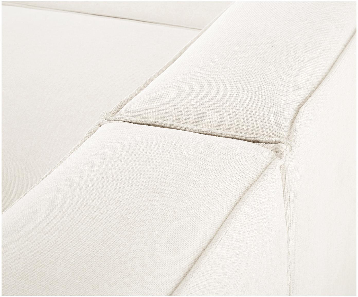 Modulaire bank Lennon (4-zits), Bekleding: polyester, Frame: massief grenenhout, multi, Poten: kunststof, Beige, B 326 x D 119 cm