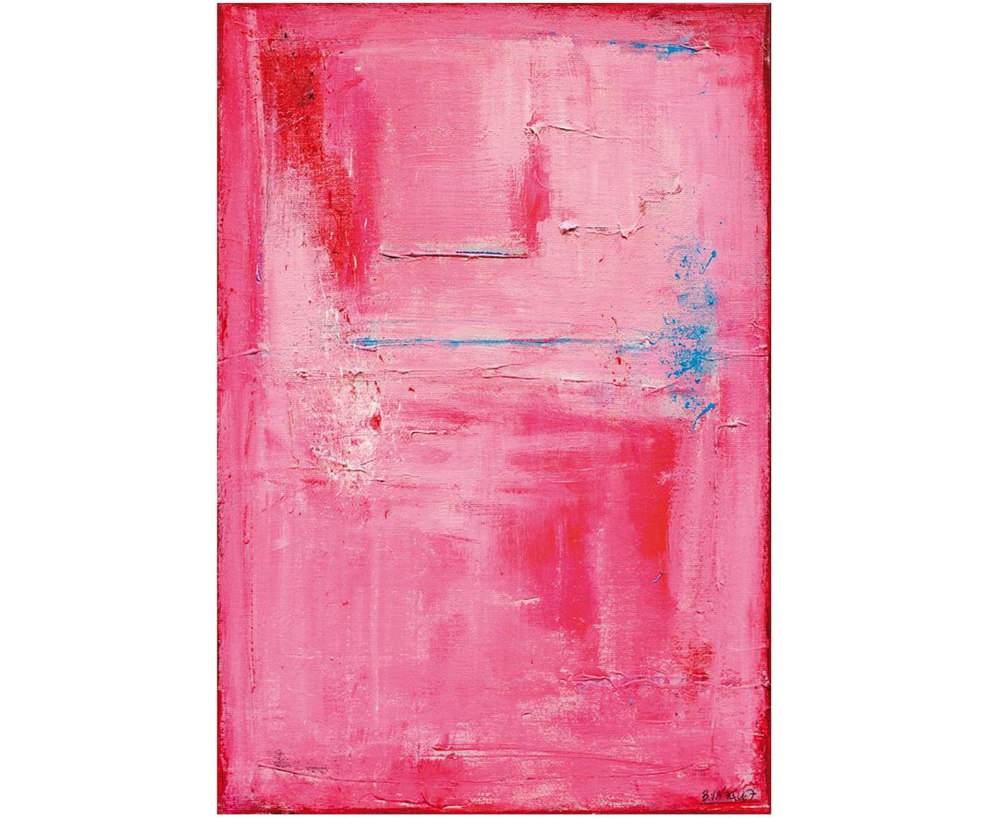 Impresión digital sobre lienzo Tristeza, Multicolor, An 40 x Al 60 cm