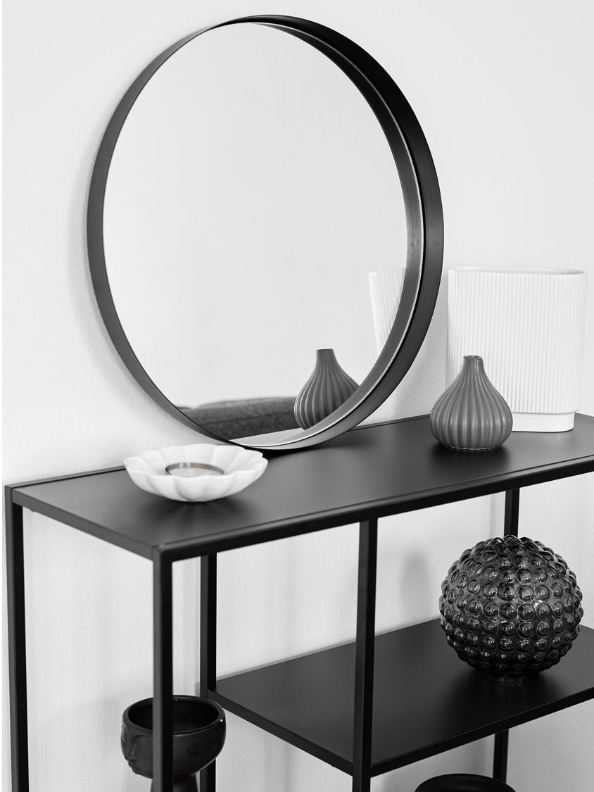 Portasapone in marmo Mussel, Marmo, Bianco, Ø 15 x Alt. 4 cm